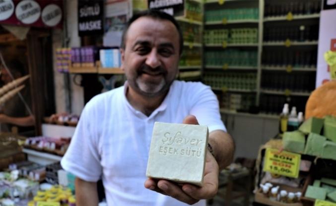 İki yıl üretilmesi için uğraştığı eşek sütü sabun yurtdışına ihraç ediliyor