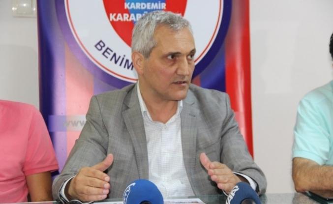"""Mehmet Yüksel: """"Karabükspor'un başkanıyım demek kolay değil"""""""