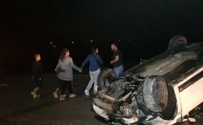 Karabük-kastamonu Yolunda kaza : 2'si çocuk 5 yaralı