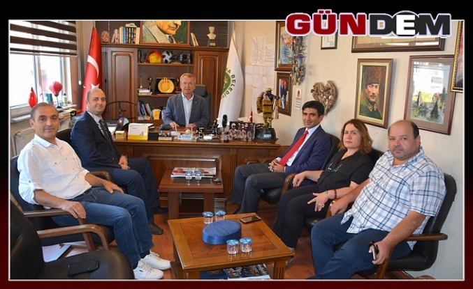 Kaymakam Coşgun'dan Başkan Kantarcı'ya ziyaret