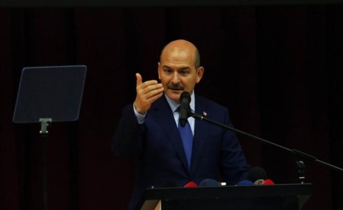 """İçişleri Bakanı Soylu: """"DEAŞ'ın da PKK'nın da YPG'nin de patronu aynıdır"""""""