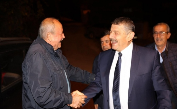 Başkan Akın Uluköy ve Bedil köylerinde