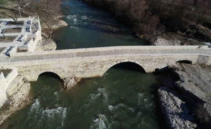 Tarihi köprüler turizme kazandırıldı