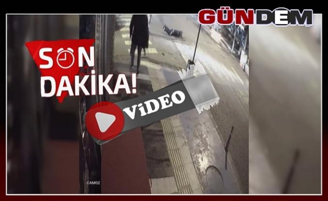 Silahlı saldırı güvenlik kamerasında!..