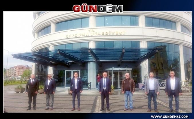 Yavuzyılmaz'dan Başkan Kantarcı'ya ziyaret