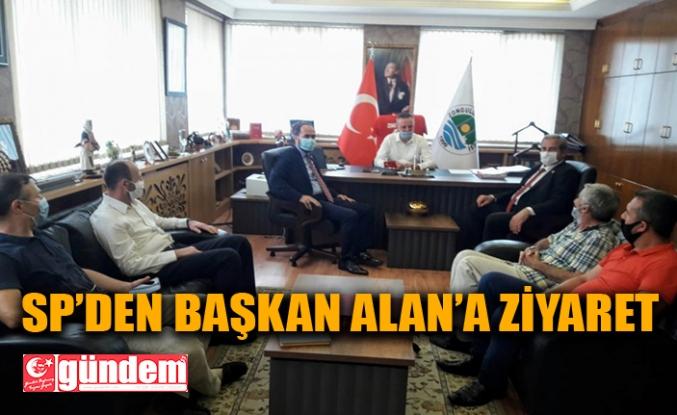 SAADET PARTİSİNDEN BELEDİYE BAŞKANI ALAN'A ZİYARET