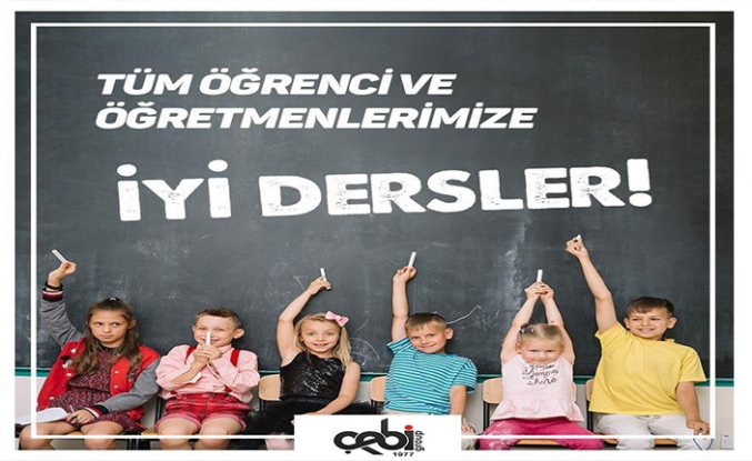 Çebi Grub'un Yeni Eğitim Öğretim Yılı Mesaj
