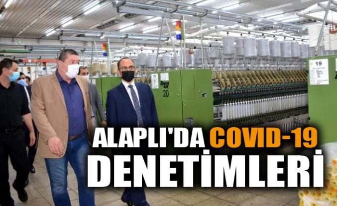 ALAPLI'DA COVID-19 DENETİMLERİ