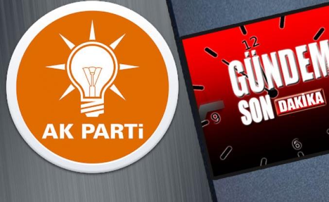 AK Parti'de 1.sıra adaylar YSK'da!