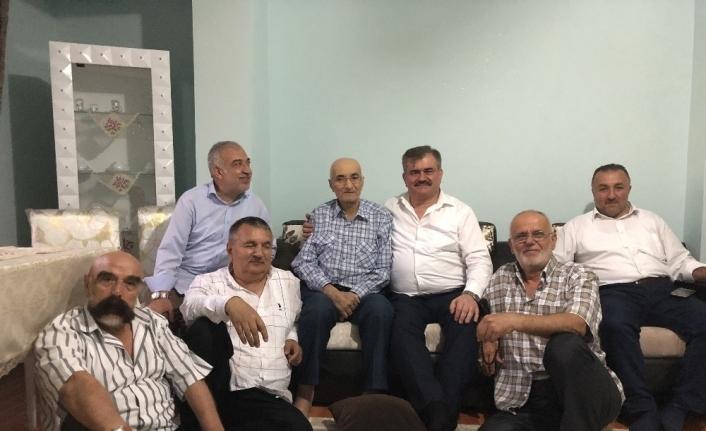 Çaturoğlu, 38 yıllık efsane muhtarı ziyaret etti...