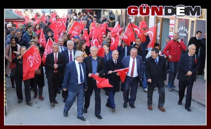 CHP'den gövde gösterisi