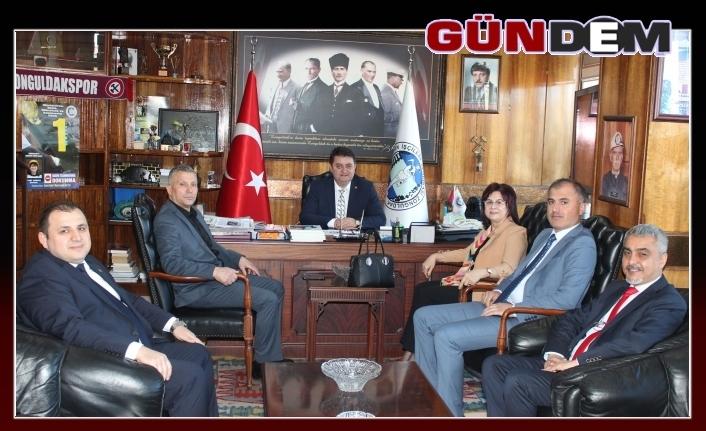 İş-Kur Bölge Müdürü Demirsu'dan GMİS'e ziyaret