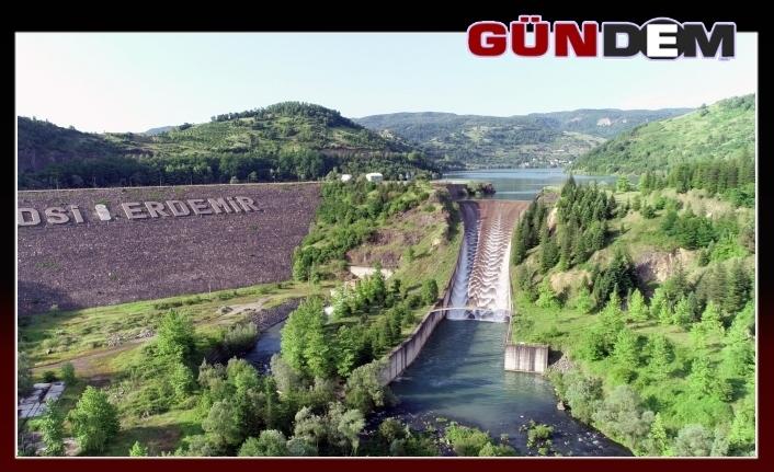 Kızılcapınar Barajı'nda su seviyesi yüzde 100'e ulaştı