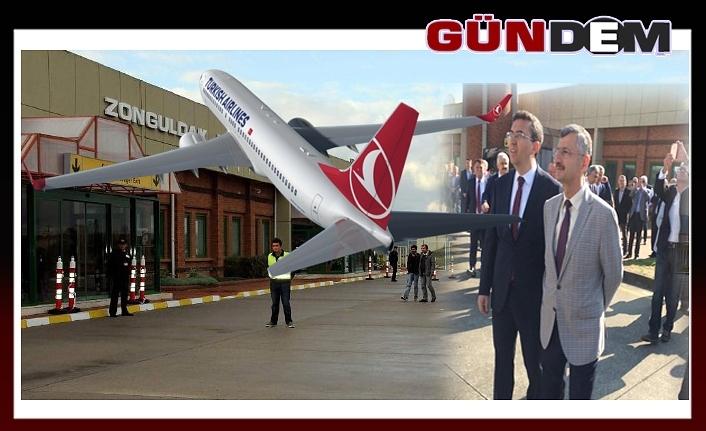 Zonguldak Havaalanını uçaklar pas geçiyor!