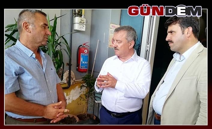 Türkmen, sel mağdurlarını ziyaret etti