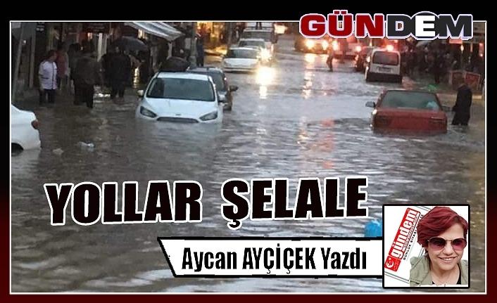 YOLLAR  ŞELALE