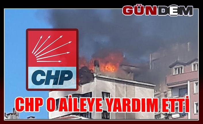 CHP o aileye yardım etti