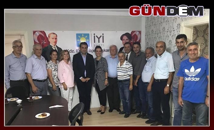 CHP ve İYİ Parti'den ittifak ziyareti