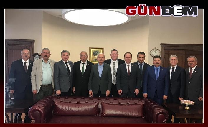 CHP'li heyetten Ankara çıkarması!..