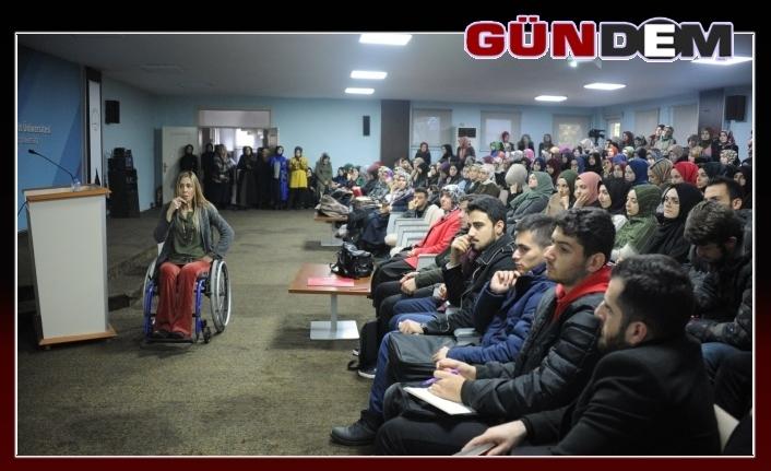 Engelliler Günü dolayısıyla BEÜ'de etkinlikler