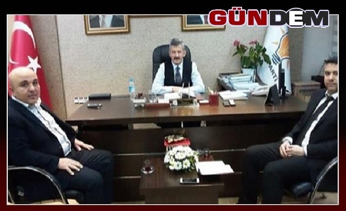 Başkan Tosun'u yeni başkanlar ziyaret etti