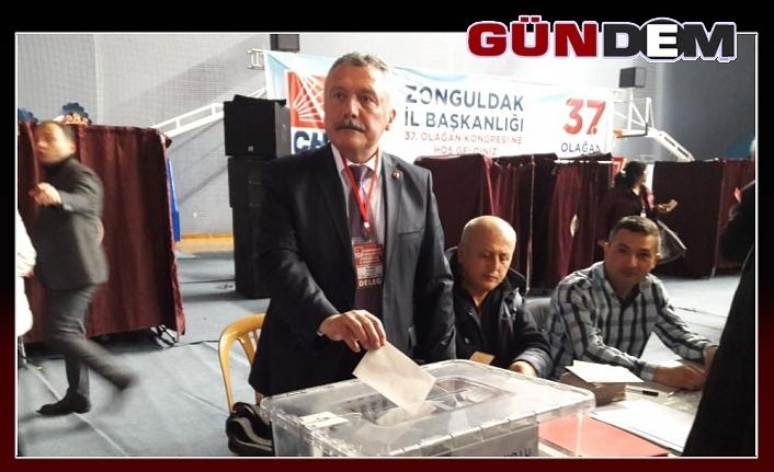 CHP İl Başkanı Murat Pulat oldu...