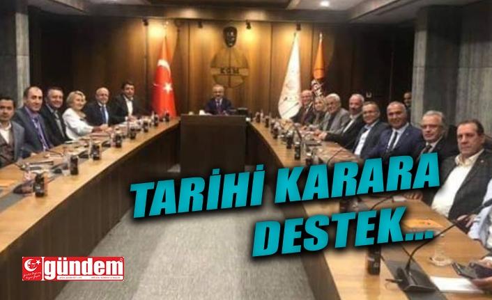 ANKABİR'DEN AYASOFYA KARARINA DESTEK