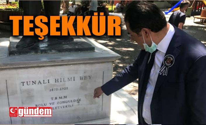 CHP'Lİ VEKİL EMİRTAŞ'TAN BAŞKAN POSBIYIK'A TEŞEKKÜR