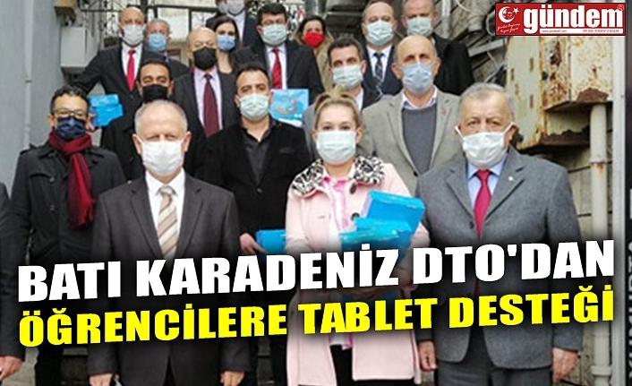BATI KARADENİZ DTO'DAN ÖĞRENCİLERE TABLET DESTEĞİ
