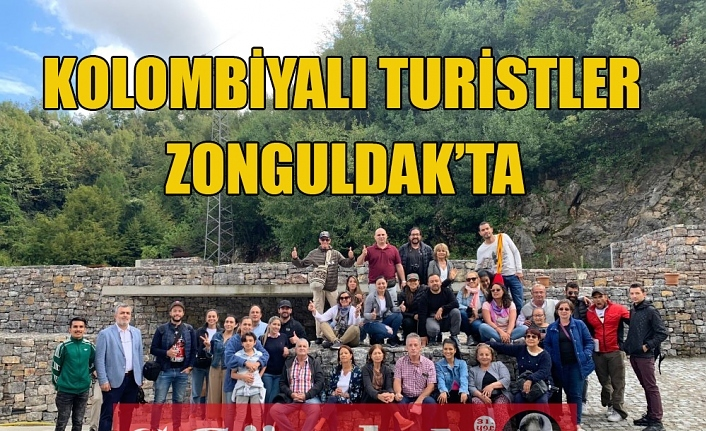 KOLOMBİYALI TURİSTLER ZONGULDAK'TA
