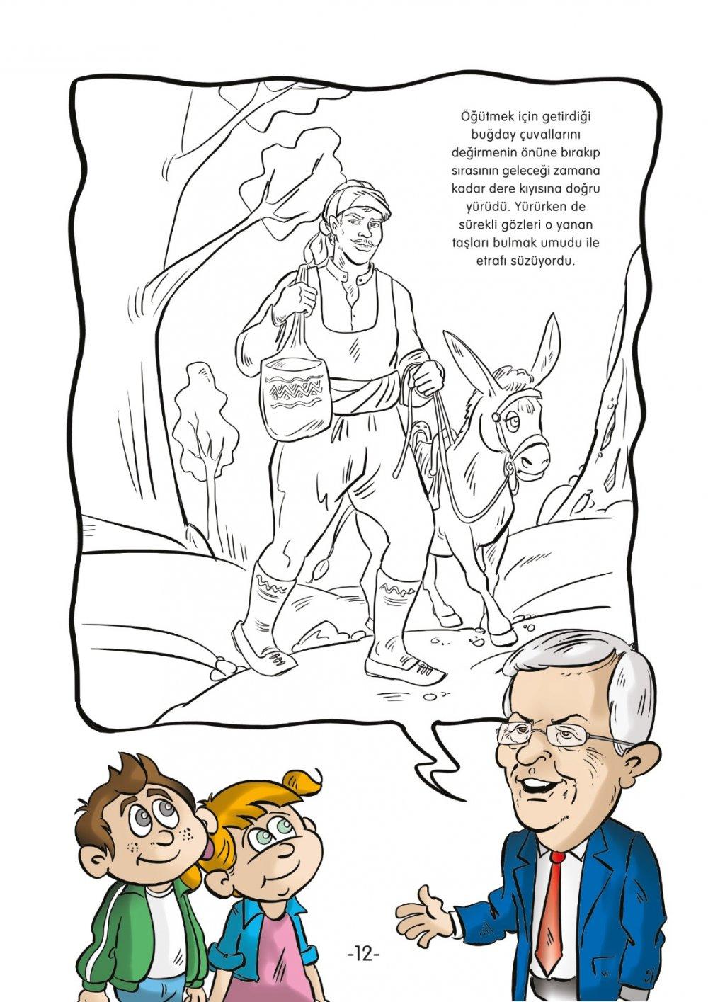 Posbiyik Tan Cocuklara Uzun Mehmet Kitabi