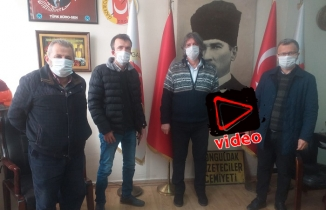 ZGC, gazetecilere maske dağıttı