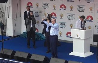 Erdoğan, İnce'ye Zonguldak'tan yüklendi