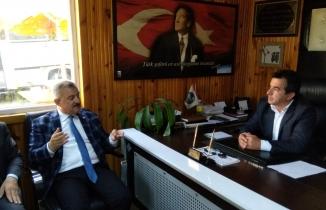 Türkmen, şoför esnafından destek istedi