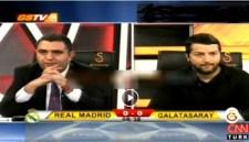 Ronaldo attı, GS TV spikeri yıkıldı